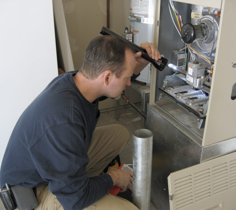inspecting your heater