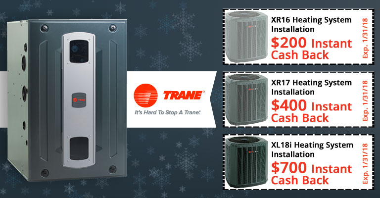 Trane Heating Systems Specials