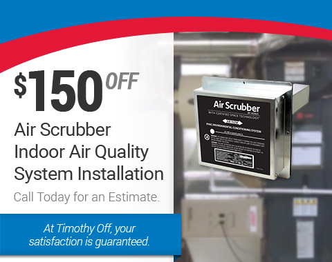 Air Scrubber Indoor Air Quality System Installation