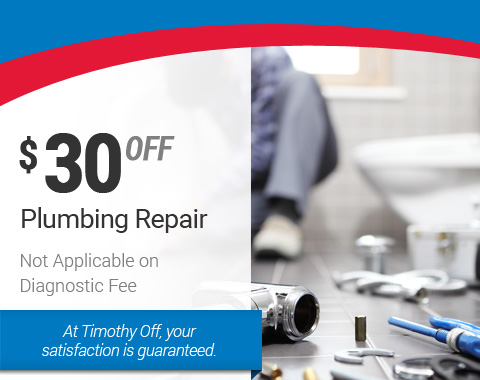 $30 Off Plumbing Repair – HVAC Specials