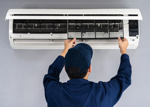 Commercial Air Conditioning Mini Split Installation