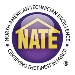 Certifications - NATE Accredited