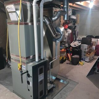 New Energy Efficient Gas Furnace