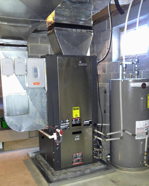 Geothermal Heating & Cooling Installation