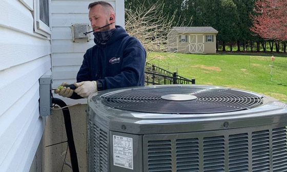 Heat Pump Air Conditioning Tune-Up
