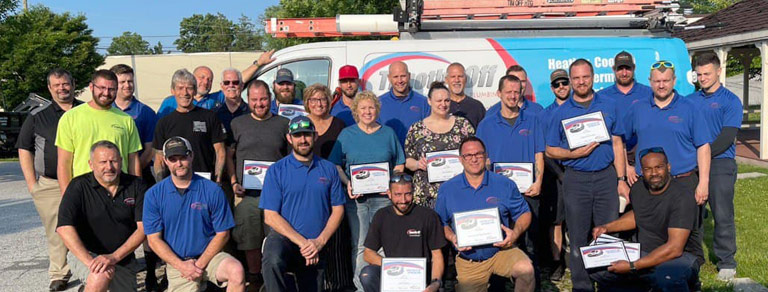 Work for Timothy Off Heating & Air Conditioning